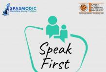 Speak First 1