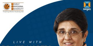 Live Interaction with Dr Kiran Bedi